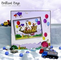 Brilliant Boys, from the Family Blockbuster by Hunkydory Crafts