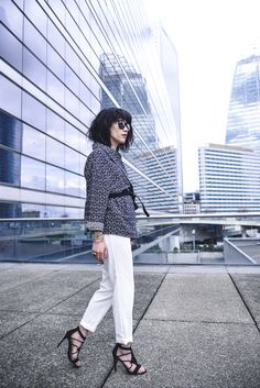 http://ledressingdeleeloo.blogspot.fr #Kimono #Pantalon #Chaussures @Pimkie