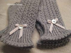 Mitten Gloves, Mittens, Gudrun, Knit Crochet, Crotchet, Tatting, Needlework, Diy And Crafts, Stockings