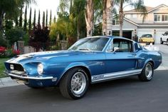 1968 Ford Mustang Shelby GT 500!!! BEAUTIFUL Car!!!