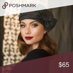 Spotted while shopping on Poshmark: Beret hat bow! #poshmark #fashion #shopping #style #Bella Starr #Accessories