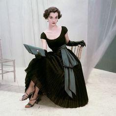 1950's gorgeous dress