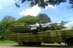 O VETERANO FUZILEIRO NAVAL.: Venezuela posiciona mísseis na fronteira com o Bra...