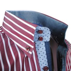 Exclusive trendy Italian red striped Ferlucci dress shirt http://eurodress.co.nz?utm_content=bufferf85f7&utm_medium=social&utm_source=pinterest.com&utm_campaign=buffer Sign up for our newsletter to get 15% off! #menswear #fashion #european #trendy