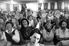 Mass meeting at the Bethel Baptist Church in support of the Birmingham movement, 1963.