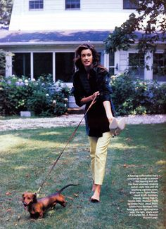 Susan Holmes | Photography by Pamela Hanson | For Vogue Magazine US | November 1992