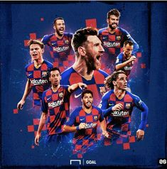 Football collage edits for social network clients. Fc Barcelona Players, Barcelona Team, Barcelona Football, Collage Football, Football Art, Messi Soccer, Messi 10, Fc Barcelona Wallpapers, Lionel Messi Wallpapers