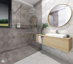 Dom 120m2,Brzezie - Łazienka, styl skandynawski - zdjęcie od STUDIO PNIAK - homebook
