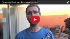 HEY...Olha o Vídeo no Tumblr Sabias que Podes Realizar TUDO o que Desejas? Sabe Como: http://jorgeparracho.com/r/tbRealizaDesejos