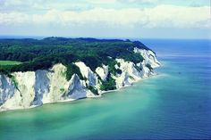 Mons Klint (south of Copenhagen) is one of the most famous places in Denmark. Here is the only place in the country where you can experience high chalk cliffs and the unique flora and fauna associated with them. You'll meet many rare plants on walks in the area and can hunt for fossils on the beaches below the cliffs
