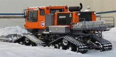 Tucker Sno-Cat | A pretty new tucker sno-cat