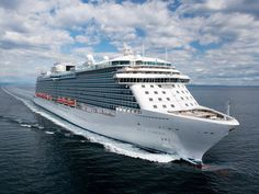 New Regal Princess Cruise ship takes to the water - Princess Cruises - Cruise News - Cruise Ship Industry News Community