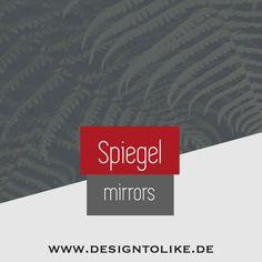 Spiegel Design, Rugs On Carpet, Carpets, Designer, Mirror, Fireplaces, Creative Design, Carpet Design, Wall Clocks