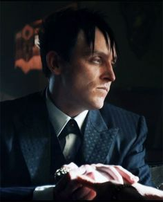 Oswald Cobblepot - Gotham he's so done all the time.
