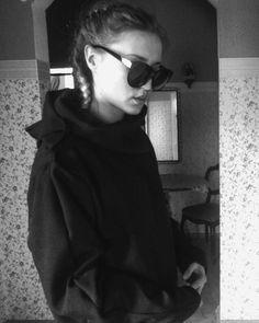 "#fashiondesigner N°1  Bluza ala Lelisabeth ""Darkness Assasin "" xD #blackandwhite #streetwear #firstproject"