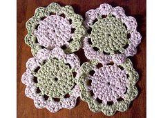 Ravelry: Dragon Coasters pattern by Naomi Grattan