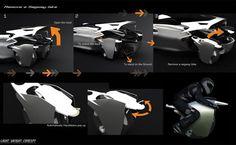 Bobin Kil's car concept with removeable, driveable wheels - Core77