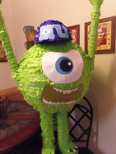 Monsters Inc Birthday Pinata