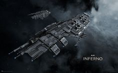 1920x1200 px free high resolution wallpaper EVE Online: Inferno  by Littleton Thomas for  - TW.com