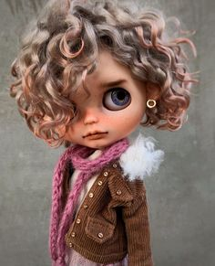Likes, 40 Comments - SanaD . Pretty Dolls, Beautiful Dolls, Fairy Dolls, Blythe Dolls, Dolly Doll, Large Eyes, Big Eyes, Valley Of The Dolls, Living Dolls