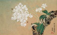 呂孟津 1934 膠彩畫