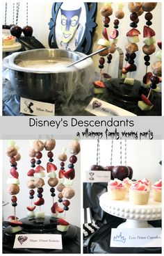 Descendants Family Movie Night and Easy Fruit Kabobs | Stilettos and Diapers | Bloglovin'