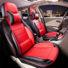 Custom car seat cover fit for volvo s60 car seats cushion black PU leather seat covers&supports full coverage car seat protector