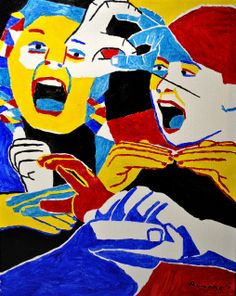 Nancy Rourke Paintings — Freedom of Communication Sign Language Art, American Sign Language, Deaf Art, Black Arts Movement, Love Signs, Art And Architecture, Oil On Canvas, Communication, Freedom