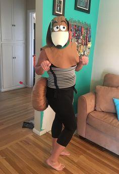 Slinky Dog Running Costume - Toy Story Running Costume - Disneyland Half Marathon 2017 - Disneyland Double Dare 2017 - RunDisney Costumes - Pixar Costume
