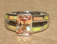 -fire-opal-topaz-ring-gemstone-silver-jewelry-sz-8-modern-cocktail-engagement-b7