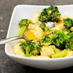 Paleo Thai Chicken and Broccoli