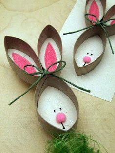 Toilett paper roll rabbit :)