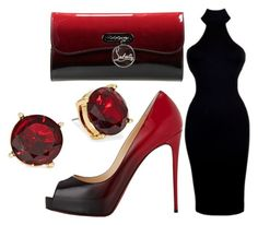 """""""Untitled #1076"""" by pinkunicorn007 ❤ liked on Polyvore featuring Christian Louboutin and Lauren Ralph Lauren"""