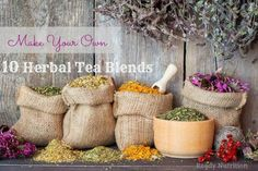 Doesn't a nice cup of tea sound wonderful? Here are 10 herbal tea blends that my family loves!