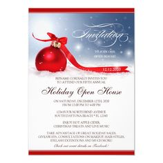 Holiday Open House Invitations For Business #business #holiday #open #house #invitations Closed For Christmas, Christmas Open House, Christmas On A Budget, Christmas Time, Christmas Cards, Holiday Party Invitation Template, Christmas Party Invitations, Office Holiday Party, Holiday Parties