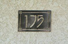 Personalized Address Metal Sign Custom Address by CandGMetalArt