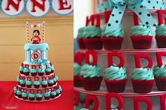 My little nephews Nacho Libre 1st Birthday Cake - check out more pics from the AMAZING birthday on my sister @Kendal Goebel Collins blog!