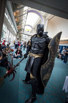 Black Panther Cosplay - #SDCC San Diego Comic Con 2014