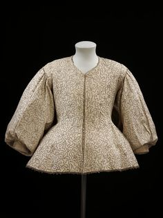 Beautiful 17-th century embroidered jacket. I am going to make this!