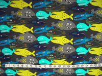 "We love our Mad Marathon Sponsor Dirty Girl Gaiter's ""Something Fishy"" print! Check out more of their awesome gaiters here: http://www.dirtygirlgaiters.com/"