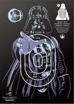 Star wars shooting targets!