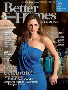 Sussanne Roshan On Better Homes –March 2012 Issue. This is the company I will one day work for :)