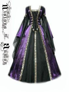 medieval dress costume medievaldress garb Renaissance larp celtic tudor fantasy