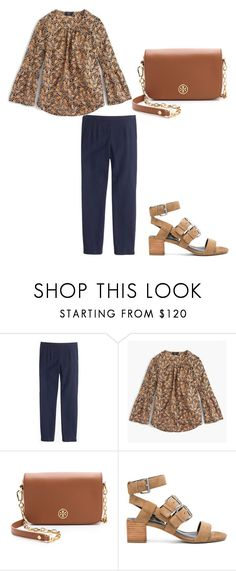 """""""Untitled #832"""" by caseylovesjcrew ❤ liked on Polyvore featuring J.Crew, Tory Burch and Rebecca Minkoff"""