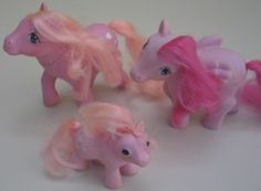 My Little Ponies -- mine was purple.  Can still hum the theme song from the cartoon, too!