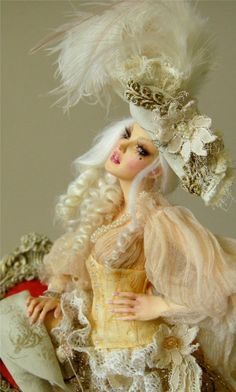 I found a nem love: Nicole West, look her up, she makes the most beautiful figurines from polymer clay