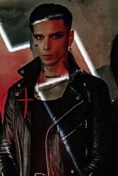 I Need A Boyfriend, Jake Pitts, Andy Black, Andy Biersack, Black Veil Brides, Rare Photos, Punk, Leather Jacket, The Incredibles