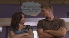 love this pic 1.) #Brucas and 2.) the sign