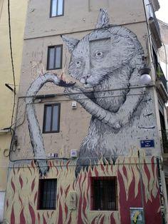 Street Artist Erica Il Cane