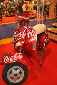 LML SCOOTER - (we sell these) www.scootersa.com - Coca Cola scooter